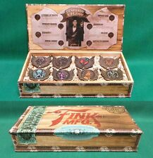 BioShock Infinite Deluxe Bronze Vigor Pin Set of 8 Collectible Pins NIB Licensed
