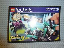 LEGO® Technic Bauanleitung 8233/8239 Blue Thunder instruction BA ungelocht