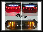 Honda 1998-05 VTR1000F SuperHawk VTR 1000 F LED Tail Light Turn Signal Smoke