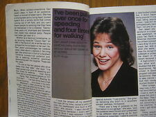 1982  TV Guide(GERI  JEWELL/KEN  MARSHALL//MARCO POLO/SCOOBY  DOO/THE  CONCORDE)
