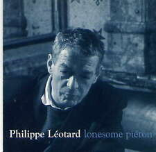 PHILIPPE LEOTARD - rare CD Single - Europe - Promo