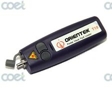 Orientek T10 10MW Visual fault locator Fiber Optic Cable Tester Up to 10~12km