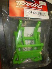 Traxxas 3678A Wheelie Bar Assembled Stampede Rustler Bandit GREEN NEW NIP