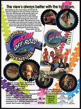 GREAT BIKINI OFF-ROAD ADVENTURE__Original 1994 Trade AD movie promo__LAUREN HAYS