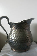 Victorian quadruple plate Water Pitcher w/Ice Lip Wilcox Silverplate Co. (B285)