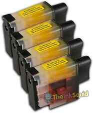 4 LC900 Yellow Ink Cartridge Set For Brother Printer MFC425CN MFC5440CN
