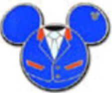 SOARIN' Mouse Icon Blue EPCOT Costumes Icons 2013 Hidden Mickey Disney Pin 94930