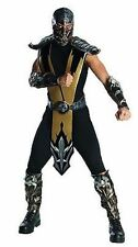 Rubies Adult Mortal Kombat Scorpion Halloween Cosplay Video Game Costume 880286