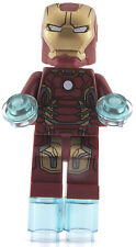 GENUINE Lego Marvel Superheroes IRON MAN Mark 45 Armour Minifigure 76029 Ironman