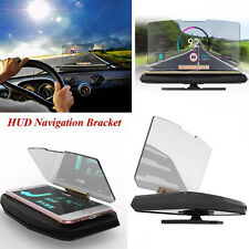 Universal Car Mobile GPS HUD Navigation Head Up Display Phone Holder Bracket