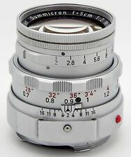 Leica Manual  Normal Len m 1:2 / 5 cm closed Summicron  ** Rare**