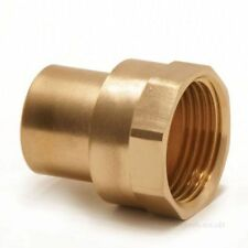 "New 15mm x 1/4"" End feed to BSP, female copper x BSP Taper Female plumbing water"