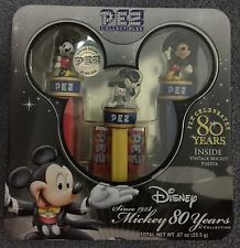 Disney Mickey Mouse 80 Years Pez Collectibles Limited Edition