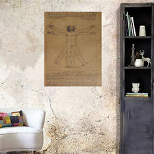 Large Vintage Kraft Paper Poster Home Show Wall Decor Bar Room Decorative Gifts