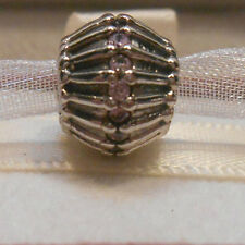 AUTHENTIC PANDORA~SHOW STOPPER, PINK CZ~790545CZS~Charm Bead *NEW**RETIRED**