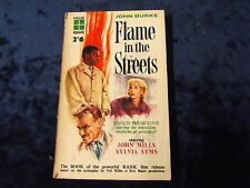 FLAME IN THE STREETS by JOHN BURKE ~~ FOUR SQUARE 1961 1st EDITION ~~