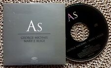 GEORGE MICHAEL & MARY J. BLIGE / AS - CD single (UK 1999 - promo)
