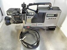Panasonic WV-F250B Color Video Camera With AG-7450A-P Fujinon, TV-Z Lens & Case