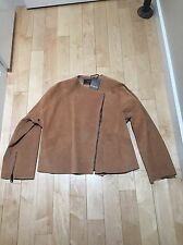Gucci Women Brown Leather Jacket Size 38