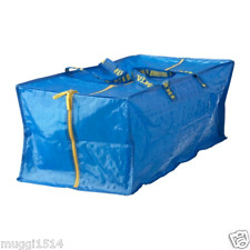 IKEA FRAKTA Large Blue Zipped Trunk Storage Bags 76L