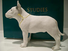 Leonardo Collection English Bull Terrier Dog Ornament Figure Figurine BNIB