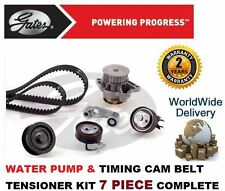 VOLKWAGEN VW GOLF 1.4 16v 1997  GATES TIMING CAM BELT TENSIONER KIT & WATER PUMP
