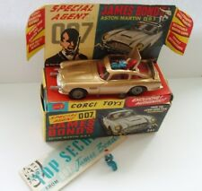 CORGI 261 JAMES BOND ASTON MARTIN D.B.5 - NR MINT BOXED!