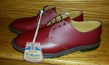 New Dr. Martens 1461 Steed 3 Eye Oxford Leather Shoes Man US 9 / UK 8 Oxblood