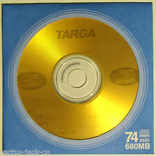 NEW TARGA BLANK RECORDABLE 680MB 74MIN MULTI SPEED CD-R, COMPACT DISC