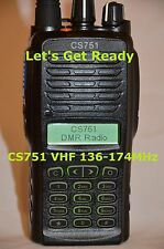 CS751 VHF Analog/Digital Radio Compatible with all DMR Radios
