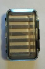 Double Sided Fly or Jig Fishing Tackle Box Clear 288 Slots for Lures
