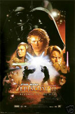 #1656 Star Wars Ep. 3 Movie Poster Approx. 22x34