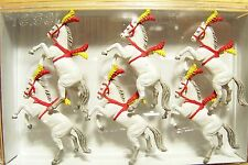 Preiser HO Circus : Performing SHOW HORSES Animal Figures # 20382