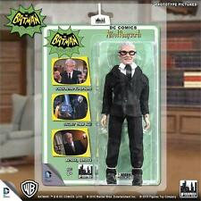 BATMAN 1966 TV SERIES 4; ALFRED PENNYWORTH 8 INCH ACTION FIGURE  MOSC