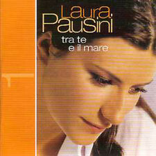 CD single Laura PAUSINI Tra te e il mare 2-Track CARD SLEEVE  NEW SEALED + RARE