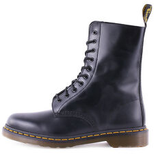 Dr Martens 1490 Work Boots Black Leather Brand New Shoes Size 3 UK 36 EU