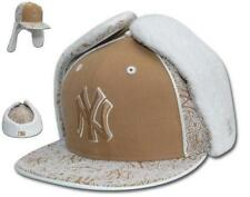 New Era NY YANKEES WHEAT DaBu Dog Ear HAT 59Fifty Fitted Trapper 7 1/2 *NWT Rare