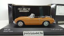 Minichamps 1/43 MGB 1967 Orange Art. 430131034