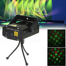 Laser Stage Projector Light with Sound Activation & Stroboflash for Party Bar