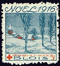 WWI Delandre Red Cross - Noel 1916 Blois