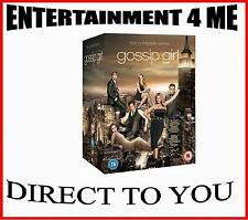 GOSSIP GIRL - COMPLETE SERIES 1 2 3 4 5 & 6 **BRAND NEW DVD BOXSET*