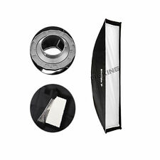 "Photography Equipment Softbox 30x90cm / 12x36"" Bowens Mount for Strobe"