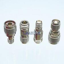 Kit Adapter 4pcs/set N to RP.TNC type male female RF connector Test converter
