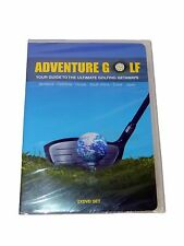 Adventure Golf Your Guide To The Ultimate Golfing Getaways 2 DVD Set New