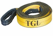 "New 2""X20FT Tow Strap W/Loop Ends Towing Rope 10,000 LB Capacity Recovery ATV"