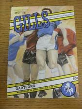 18/04/1990 Kent Senior Cup Semi-Final: Gillingham v Dartford  . Item in very goo