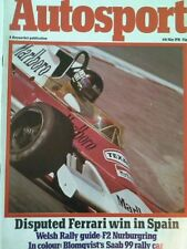 Autosport May 6th 1976 *Spanish Grand Prix*