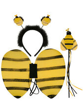 Bumble Bee Wings Boppers Costume Fancy Dress Set Halloween Hen Night Book Week