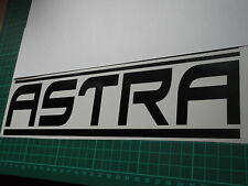ASTRA panel skirt car vinyl sticker decal x2