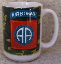 Coffee Mug Military Army 82nd Airborne Division NEW 14 ounce cup with gift box